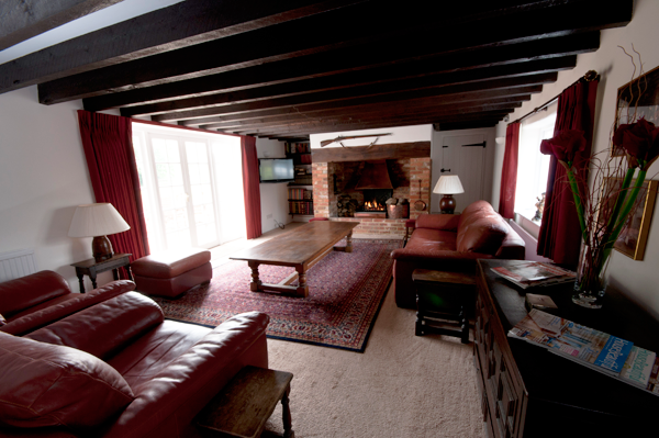 Lounge at Meadow Cottage B&B Wimborne