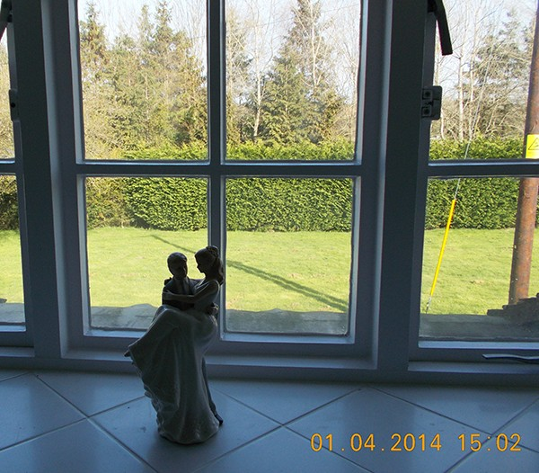 View from The Honeymoon Suite Bathroom